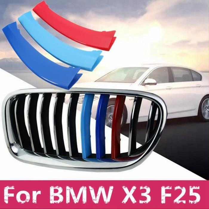 U 3x M Bande Couverture Clips Grille Centre Pour BMW X3 F25 2011-2015