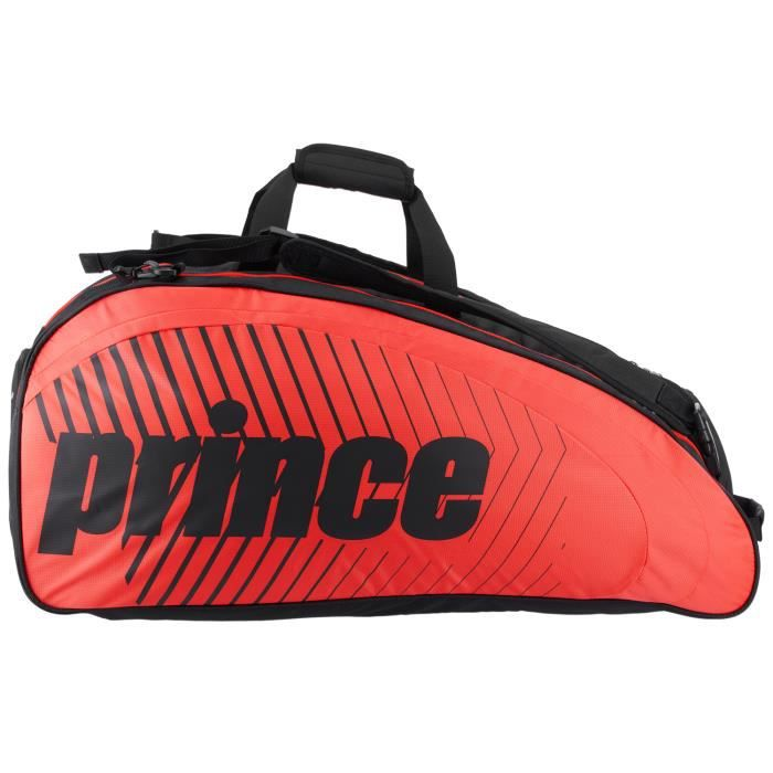 Sac de tennis Prince Tour Challenger 9R Rouge / Noir - Couleur:Noir Type Thermobag:9 raquettes