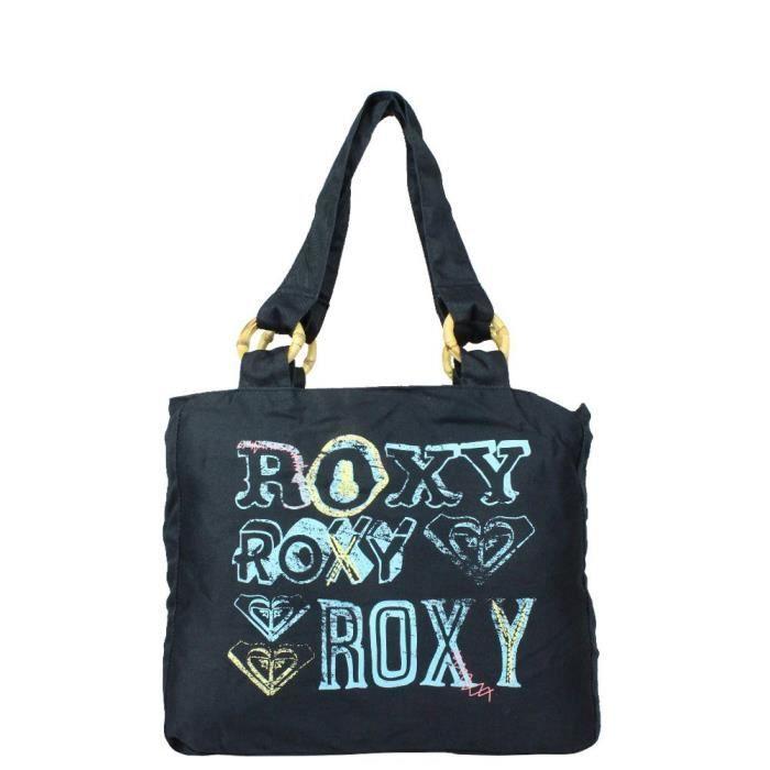 Sac petit cabas épaule Roxy XUTBA052 (Noir)