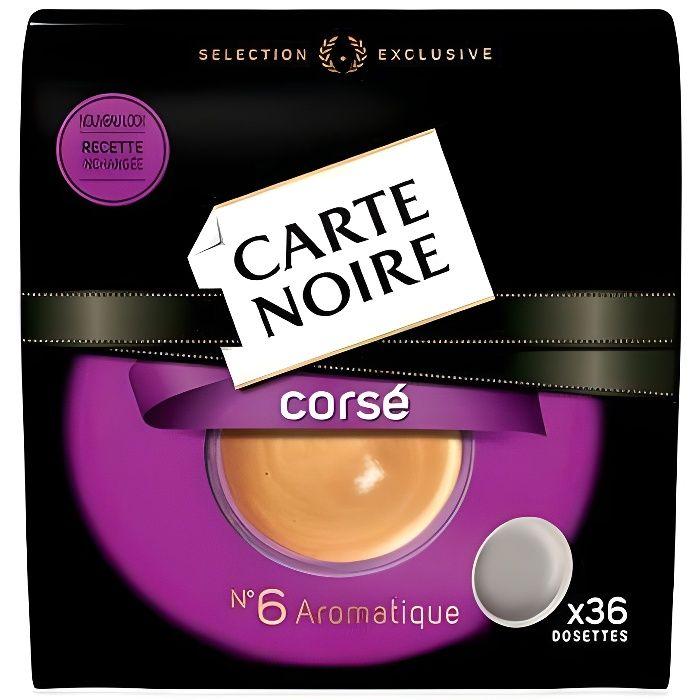 CARTE NOIRE Café dosettes - 36x 250 g