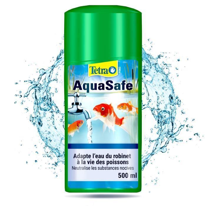 TETRA Conditionneur d'eau Pond AquaSafe - Pour poissons de bassins - 500ml