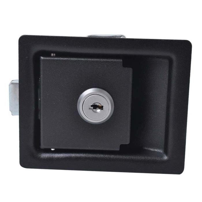Remorque à outils antivol Verrouillage de caravane Accessoires de remorque de (noir) BRACELET DE MONTRE VENDU SEUL