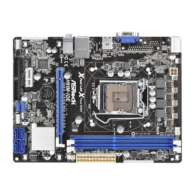asrock h61m ide carte m re micro atx socket 1 achat. Black Bedroom Furniture Sets. Home Design Ideas