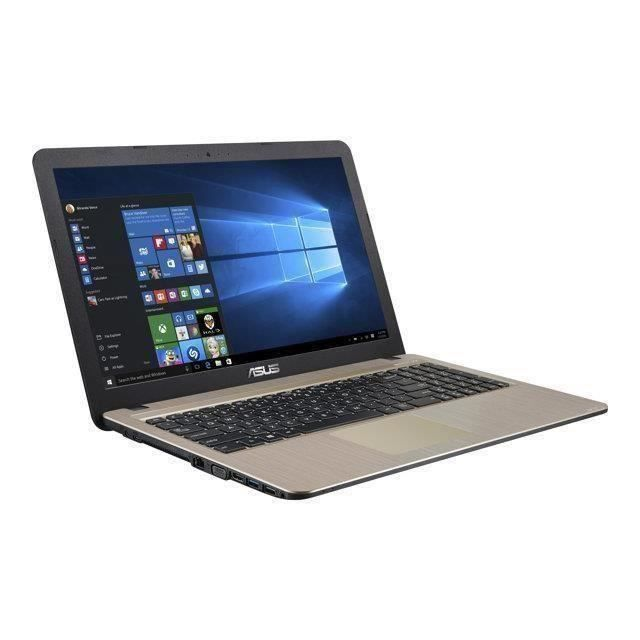 asus vivobook x540la xx840t pc portable core i3 5005u. Black Bedroom Furniture Sets. Home Design Ideas