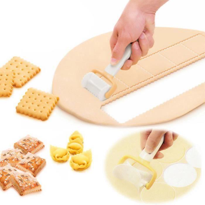 EMPORTE-PIÈCE  Rouler la pâte Emporte Cutter Rouleau tranche Bisc