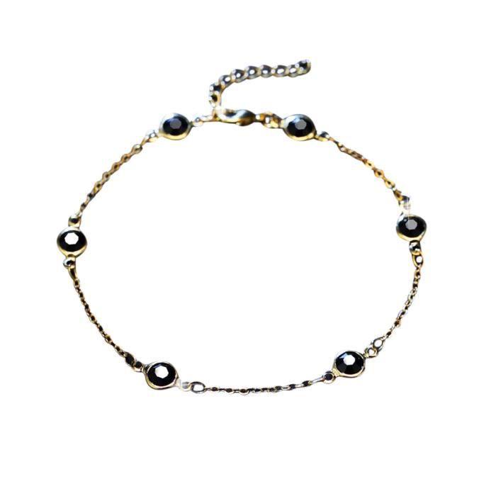 CHAINE DE CHEVILLE Damai 12 Perle 3 cloches - Les bracelets de chevil