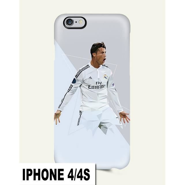 coque iphone 4 4s ronaldo foot madrid