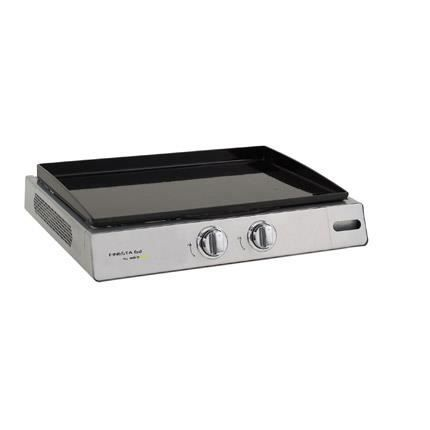 Plancha cook in garden finesta 63