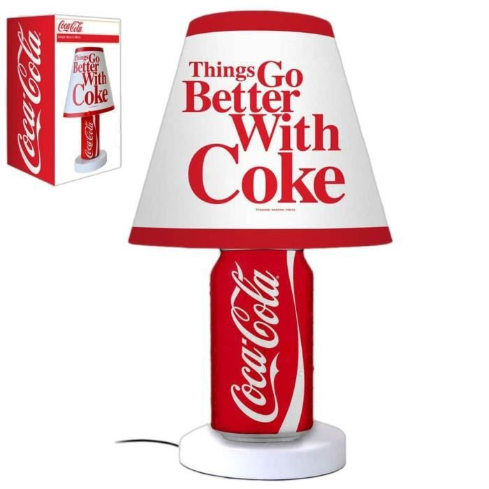 lampe deco coca cola canette achat vente lampe deco coca cola canett pvc cdiscount. Black Bedroom Furniture Sets. Home Design Ideas