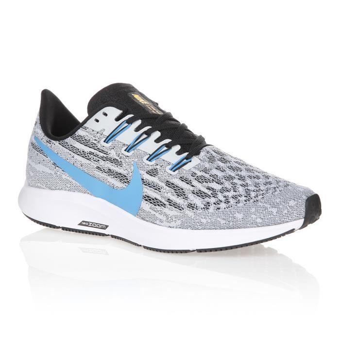 NIKE Chaussures de running AIR ZOOM PEGASUS 3 - Homme - Gris et ...