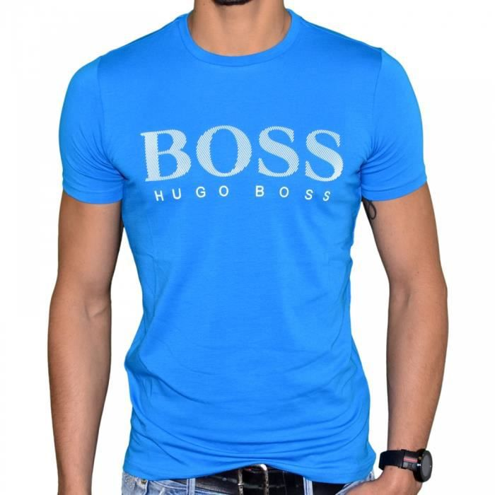 hugo boss t shirt manches cour achat vente t shirt hugo boss t shirt manches. Black Bedroom Furniture Sets. Home Design Ideas
