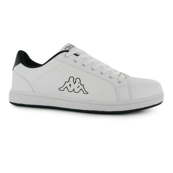 Baskets Tennis Chaussures de Sport Homme KAPPA Maresas 2 Snr 64 White-Black Taille 47