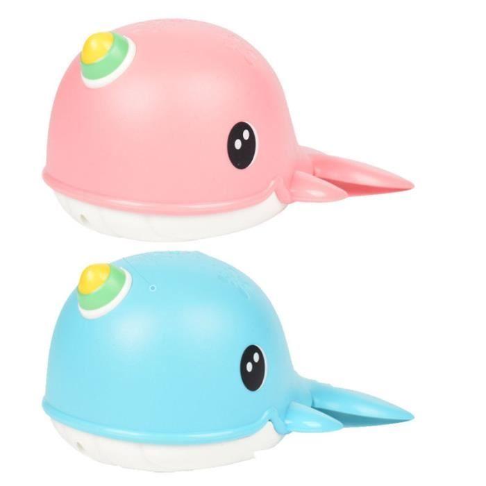 2 Pieces Jouets De Bain Baleine Dessin Anime Educatif Drole Baignoire Jouant Jouet Mecanique Bath Toy Achat Vente Jouet De Bain 4824135672460 Cdiscount