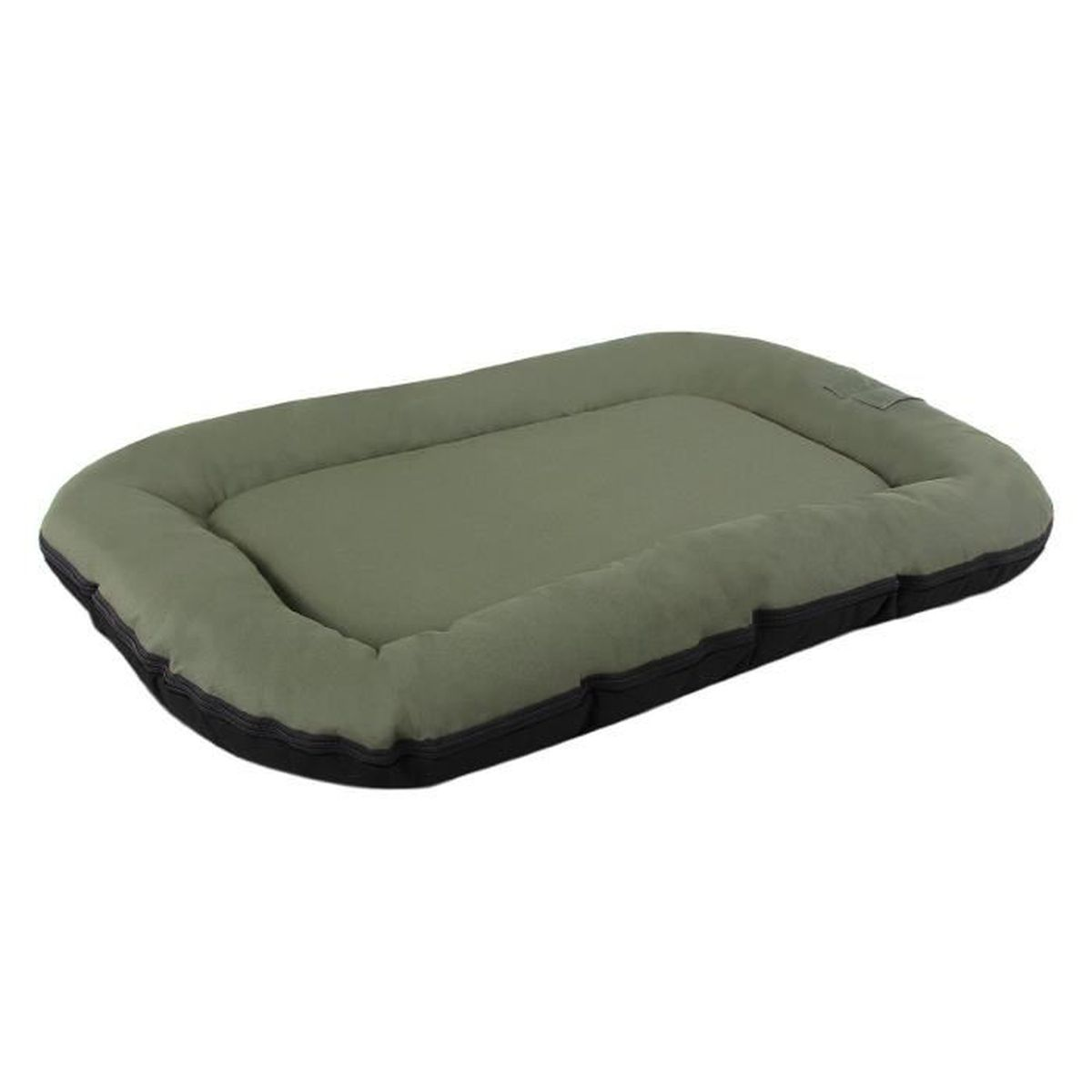 matelas pour chien 2 en 1 gris vert. Black Bedroom Furniture Sets. Home Design Ideas
