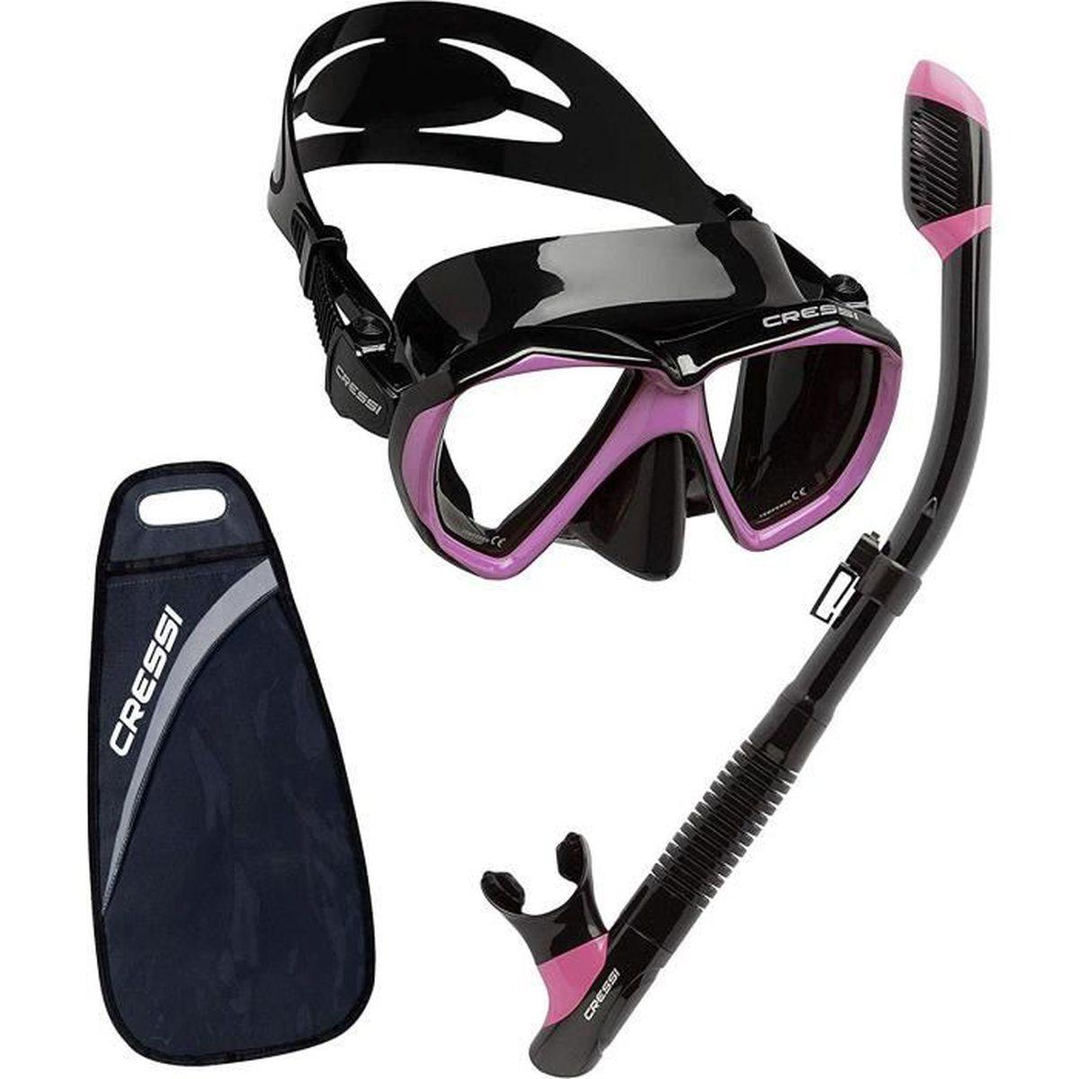 Premium Masque Plong/ée et Snorkeling Cressi Marea Adulte