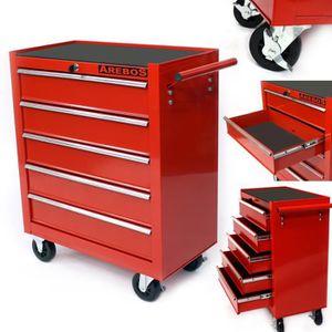 BOITE A OUTILS Caisse à outils d'atelier 5 tiroirs tools chest