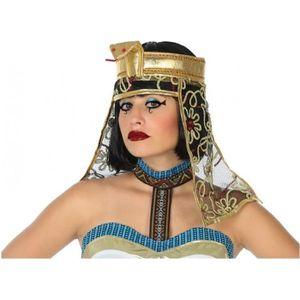 CHAPEAU - PERRUQUE Coiffe Egyptienne Cléopatre