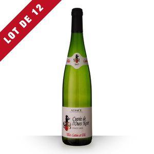 VIN BLANC Lot de 12 - Théo Cattin Cuvée de l'Ours Pinot Gris