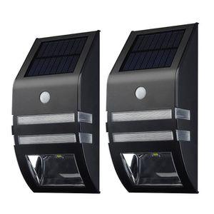 LAMPE DE JARDIN  [Lampe Solaire Murale LED]2 Pack Eclairage Solaire