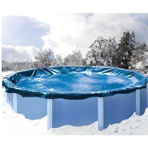 BÂCHE - COUVERTURE  Bache de protection piscine hors sol 3.60 à 4 m