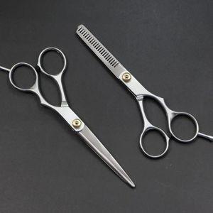 CISEAUX - EFFILEUR 2PCS Ciseaux cheveux Coiffure Ciseaux à effiler Ci