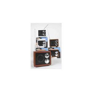RADIO CD CASSETTE COULEUR BLANCHE : MINI RADIO RETRO PORTATIVE ST…