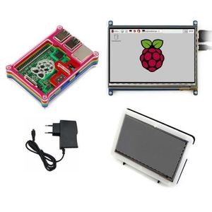 CARTE MÈRE Super 4-en-1 Kit Raspberry Pi 3 Model.