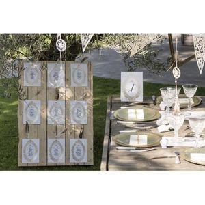 Décors de table 10 Plans de table mariage Versailles