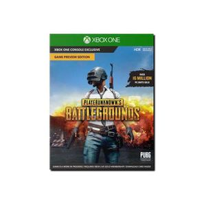 JEU XBOX ONE PlayerUnknown's Battlegrounds Game Preview Edition