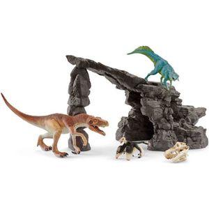 FIGURINE - PERSONNAGE SCHLEICH - Figurine 41461 Kit de dinosaures avec g