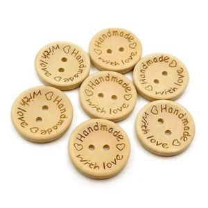 lot de 6 boutons  neuf mercerie scrapbooking bois enfant 1,3cm lot 93 escargot