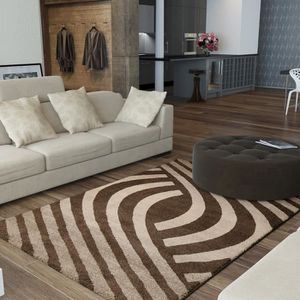 tapis salon chocolat achat vente tapis salon chocolat pas cher cdiscount. Black Bedroom Furniture Sets. Home Design Ideas
