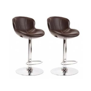 tabouret de bar cuir achat vente tabouret de bar cuir pas cher cdiscount. Black Bedroom Furniture Sets. Home Design Ideas