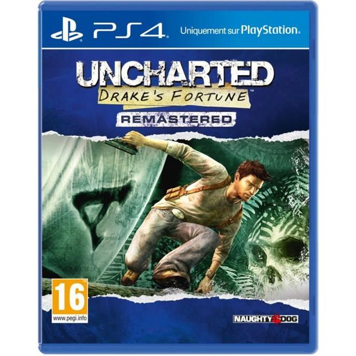 Uncharted: Drake's Fortune Remastered Jeu PS4
