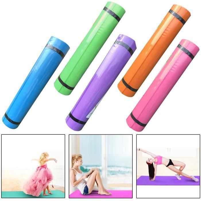 4MM EVA épais Tapis de yoga durable Tapis de Aptitude antidérapant