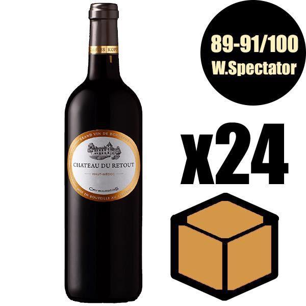 X24 Château du Retout 2016 75 cl AOC Haut-Médoc Vin Rouge