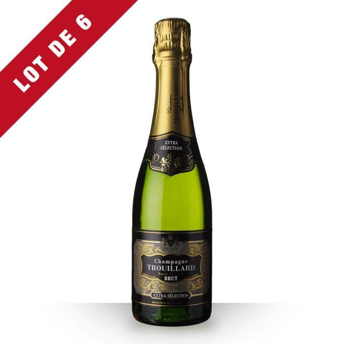 6X Trouillard Brut 37,5cl - Champagne