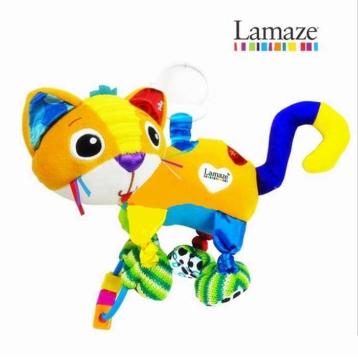 Lit de bébé jouets chat intellectuelle développement jouet Lamaze accroché les jouets d'enfants bébé poussette