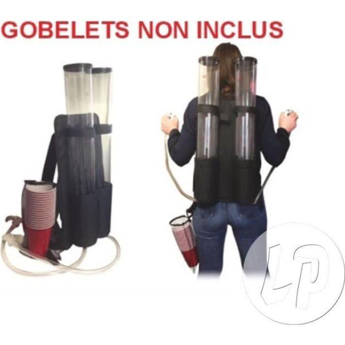 distributeur dorsal à boisson jetpack 2x3l
