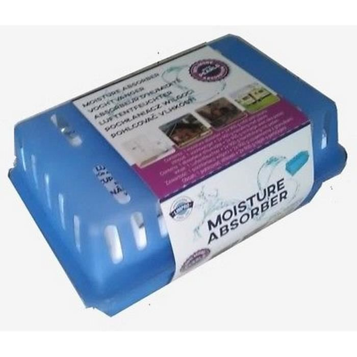 GROS SUPER ABSORBEUR ABSORBE HUMIDITE AIR 2 RECHARGES 1.8KG DESHUMIDIFICATEUR