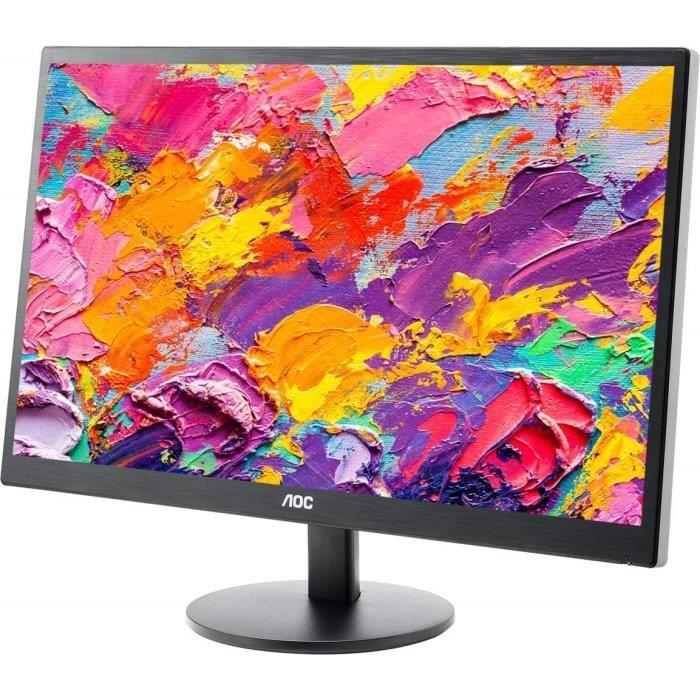 Écrans PC AOC E2270SWDN Ecran PC LED 21- 1920 x 1080 5 ms DVI-D-Sub 288