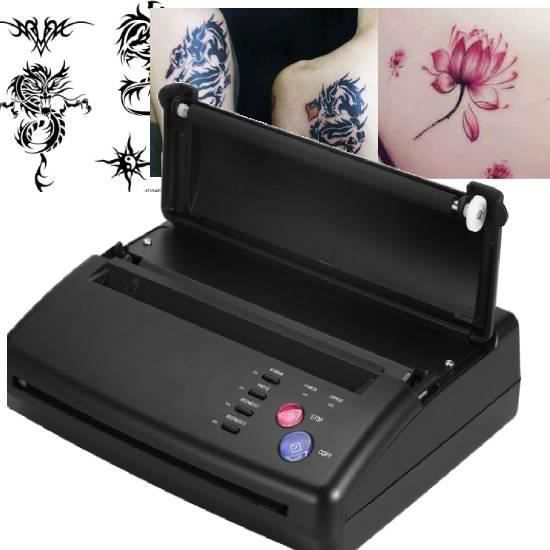 Machine de Transfert de Pochoir Copieur Thermique à Papier de Tatouage Professionnel A5 A4