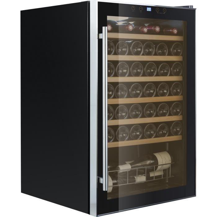 CAVISS S148CBE4 - Cave à vin de service - 48 bouteilles - Pose libre - Classe A - L 55 x H 85 cm - Noir