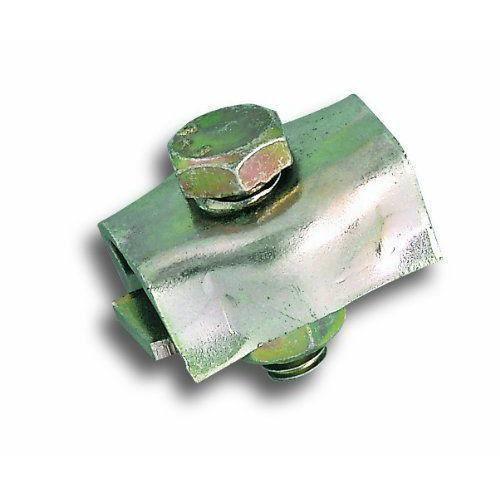 Chapuis Lot de 2 Serre-câble plat 1 boulon acier zingue pour Câble D 4 mm - VCP5