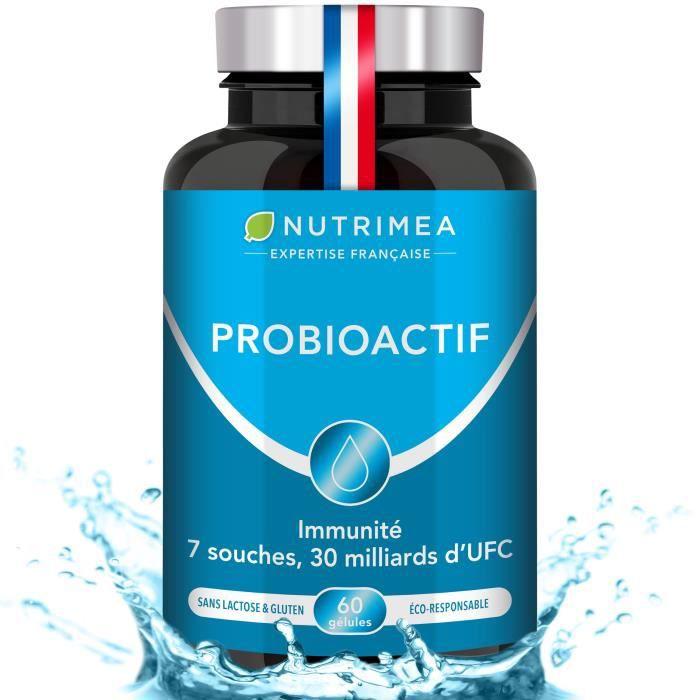 Actibior - Probiotiques & Prébiotiques 30 Milliards UFC/jour - 60 gélules - NUTRIMEA