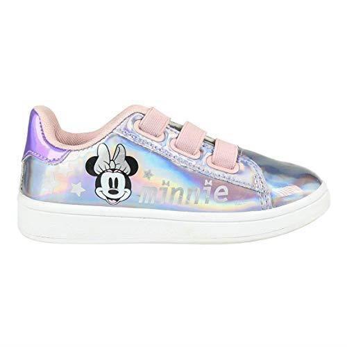 CERDÁ LIFE'S LITTLE MOMENTS Cerdá-Zapatillas Iridiscentes de Minnie Mouse de Color Rosa, Chaussures Iridescentes Couleur Rose, 30 EU