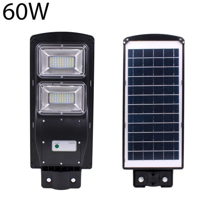 TEMPSA 60W Applique exterieur solaire 120led 2835smd capture luminaire + radar