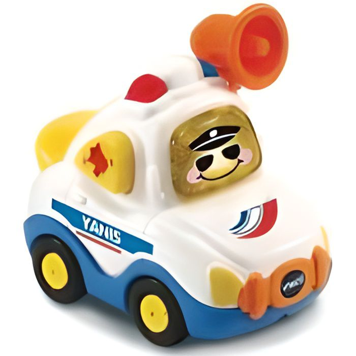 Yanis capitaine police avec bouton surprise - Tut tut bolides City - Voiture interactive Vtech