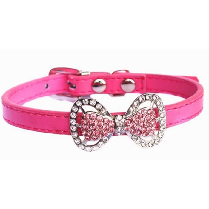 Girl Dog Collars With Bows