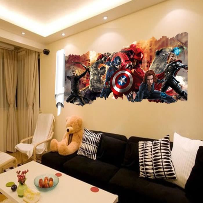 Decoration mural marvel achat vente decoration mural for Home decor outlet 63125
